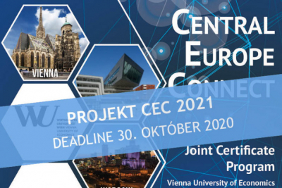 Zapoj sa do projektu Central Europe Connect CEC  v roku 2021