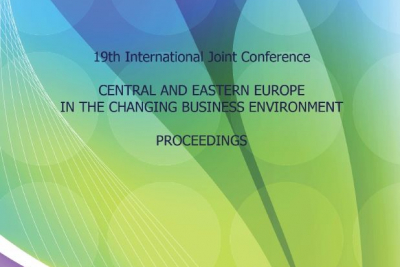 19th Joint International Conference Central and Eastern Europe in the Changing Business Environment : Proceedings